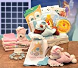 Sweet Dreams - BLUE - Newborn Baby Basket - Shower Gift Idea for New Baby Boys