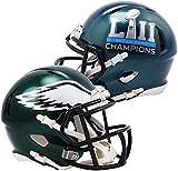 #1: Riddell Philadelphia Eagles Super Bowl LII Champions Revolution Speed Mini Football Helmet - Fanatics Authentic Certified