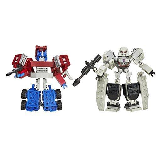 Price comparison product image KRE-O Transformers Kreon Battle Changers Autobot Ratchet VS Soundwave 2 Pack