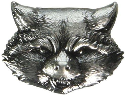 Marvel Rocket Raccoon Head Pewter Lapel Pin
