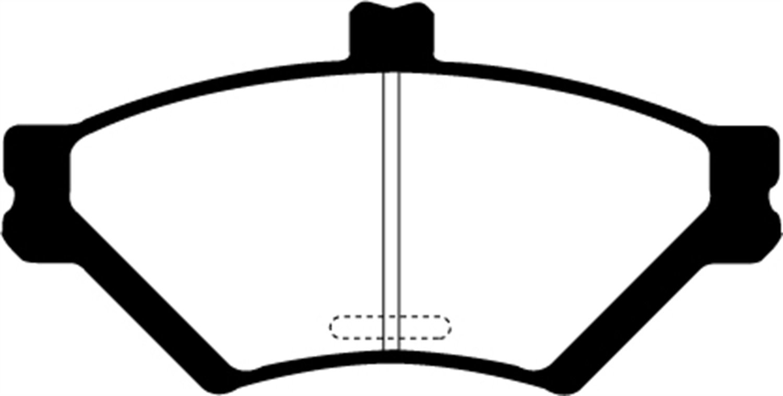 EBC Brakes DP31169C Redstuff Ceramic Low Dust Brake Pad