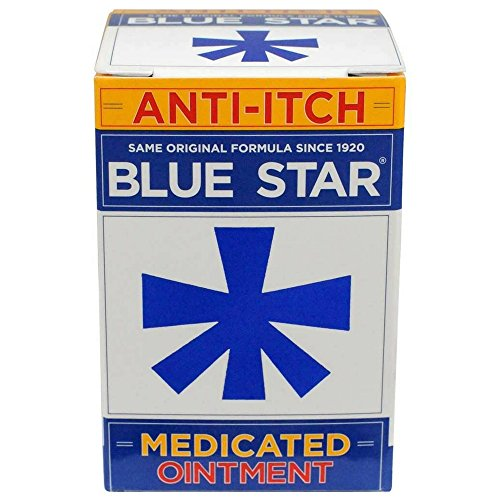 Medicated Anti Itch Cream - Blue Star Anti-Itch Medicated Ointment 2 oz