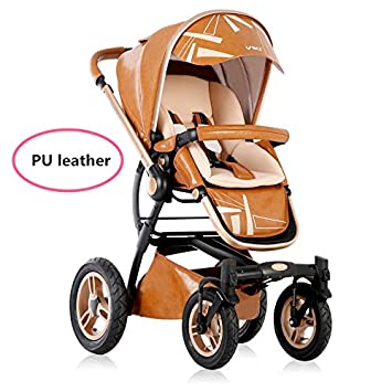 Amazon.com: 2016 moda Baby Stroller, Baby Pram, highview ...
