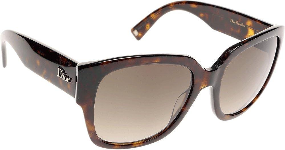 Amazon.com: Christian Dior Flanelle 2/S – Gafas de sol Dark ...