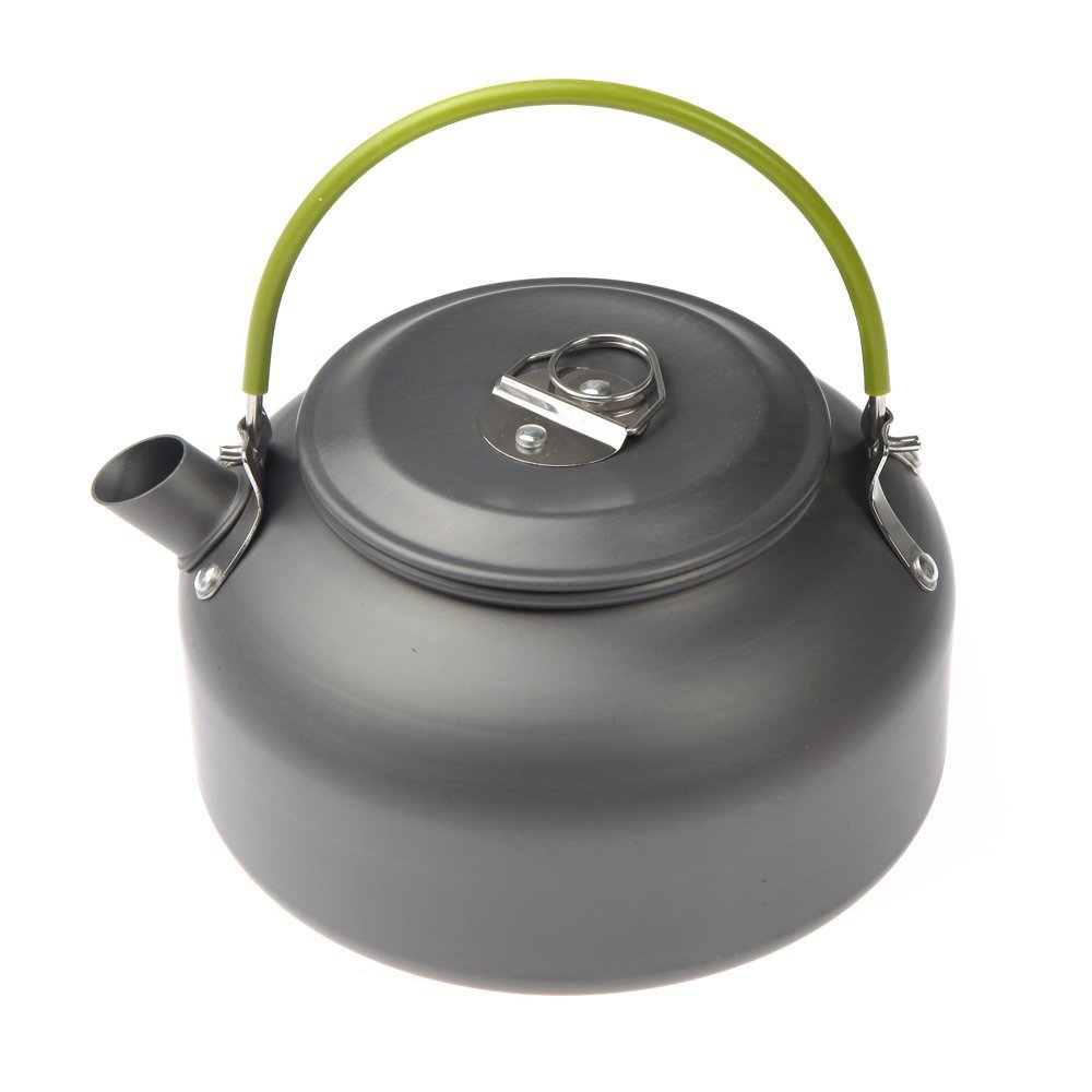 Sports & Entertainment Shop For Cheap 1.1l Camping Outdoor Water Kettle Pot Teapot Picnic Cookware Coffee Ultra-light Hiking Survival Aluminum Portable Compact Camping & Hiking