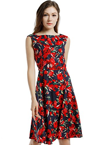 Blooming Jelly Womens Vintage Cocktail