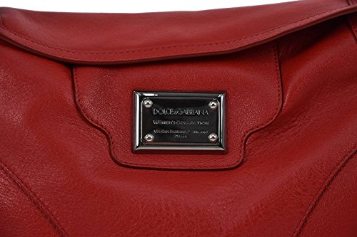 Dolce&Gabbana Women's HANDBAG Leather Red - Made in Italy