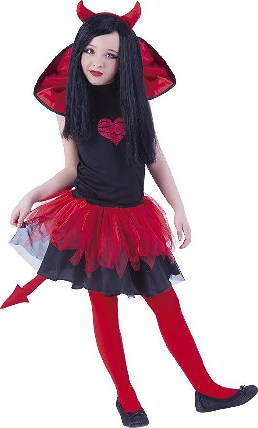 Rubies- Disfraz infantil diablesa Tutuween, L (8-10 años) (Rubies ...