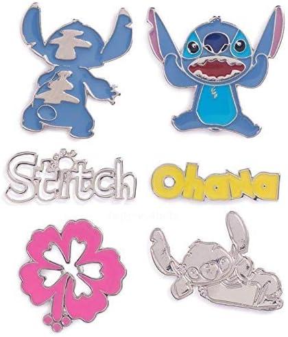 atmosphere Primark ~ Disney Stitch ~ Pins ~Insignias~ Pack 6 ...