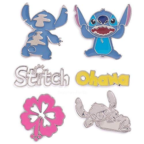 atmosphere Primark ~ Disney Stitch ~ Pins ~Insignias~ Pack 6: Amazon.es: Juguetes y juegos