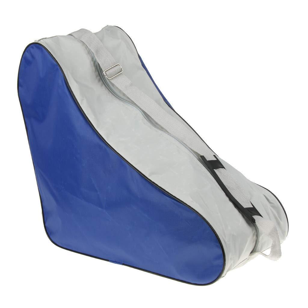 Unbekannt EIS- und Inline-Skate-Tasche, Premium-Tasche zum Tragen von Schlittschuhen, Inlineskates fü r Kinder und Erwachsene