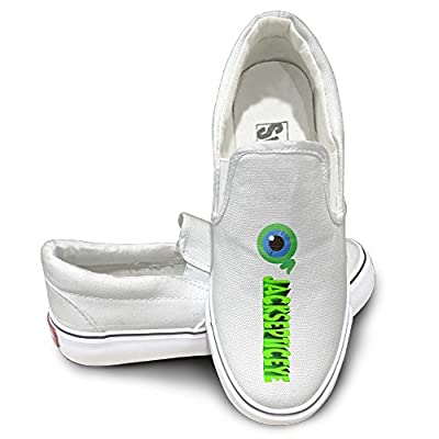 Amone Jacksepticey Comfort Unisex Flat Canvas Shoes Sneaker White