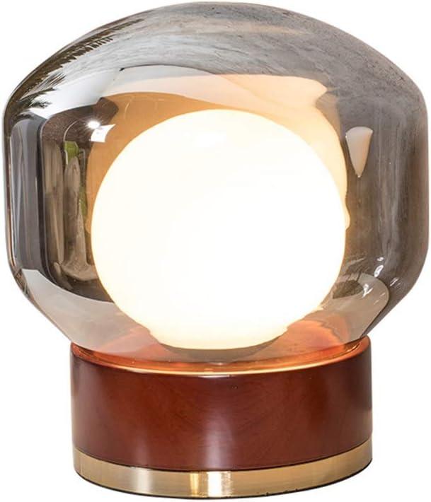 パーフェクト LEDガラステーブルランプ/創造的な人格装飾ボールリビングルーム/寝室のベッドサイドランプ ホーム