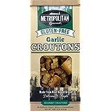 Metropolitan Gourmet Gluten Free Croutons, Garlic, 4.5 Ounce