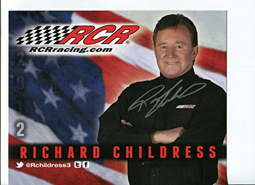- Richard Childress NASCAR Driver And Owner Signed Autograph Photo - Autographed NASCAR Photos