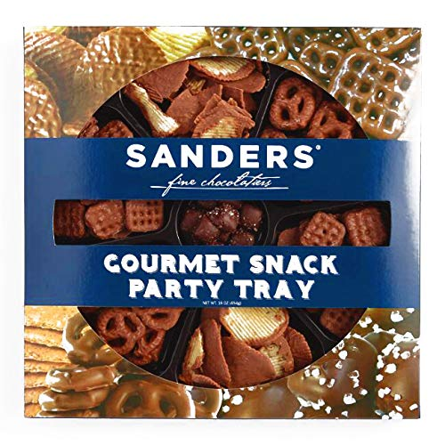 Sanders Gourmet Snack Party Tray 20 oz each (1 Item Per Order, not per case)