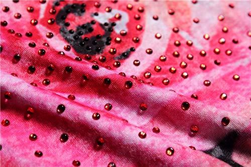 nbsp; Corta Fbrqdf Doppia nbsp;arrivo Moda nbsp; Donne Sottile M Cotone Hot Foratura Maglietta Rosa Manica Di Seta In qpBgwq