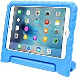 iPad Mini 4 Case, i-Blason Apple iPad Mini 4 Case for Kids [ArmorBox Kido Series] Light Weight Super Protection Convertible Stand Cover 2015 Release (iPadMini4-Kido-Blue)