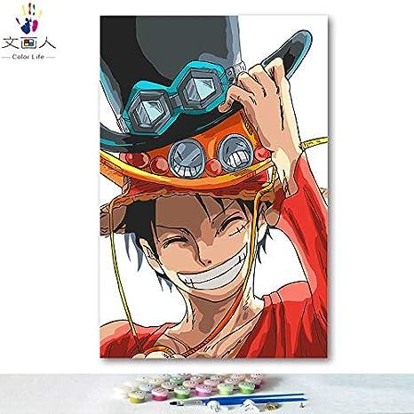 Kykdy Dibujos Para Colorear Diy Por Números Con Colores