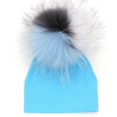 GZHILOVINGL Bule Beanie Hats For Baby Boys Skullies Beanies Cotton Soft Hat (Luke Kirby Halloween)