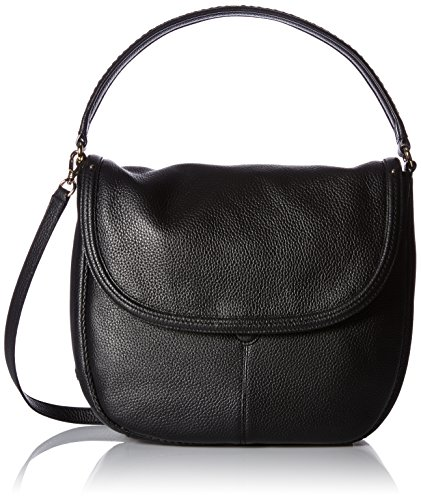 Cole Haan Tali Double Strap Saddle, Black