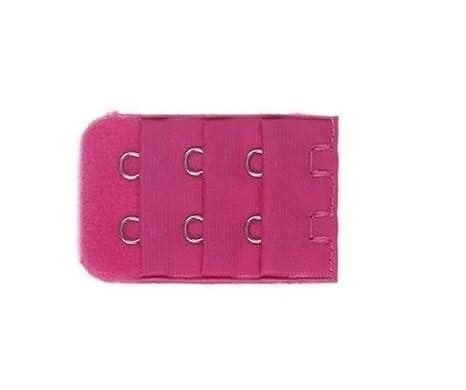 31e27fe3d60bf 1 rallonge rose fushia extension soutien gorge 2 crochets: Amazon.fr ...