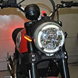 Ducati Scrambler Cafe Racer/Sixty2/Desert Sled Front Turn Signals - New Rage Cycles