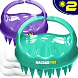 Scalp Massager, 2 Pack Scalp Brush Hair Shampoo