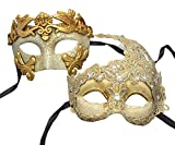 Couple Mask Plastic Roman Goddess Venetian Masquerade Mask