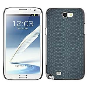 Be Good Phone Accessory // Dura Cáscara cubierta Protectora Caso Carcasa Funda de Protección para Samsung Note 2 N7100 // Simple Pattern 24
