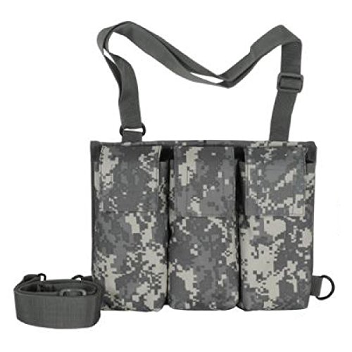 [VooDoo Tactical 20-9928075000 6 Mag Bandolier, Army Digital, One Size] (Bandolier Belt)