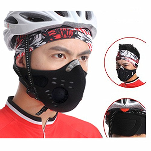 FakeFace Bike Cycling Anti-dust Half Face Mask with Filter N