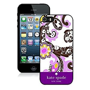 Personalized Popular Design iPhone 5 5S Case Kate Spade New York Phone Case For iPhone 5 5S Plastic Cover Case 32 Black