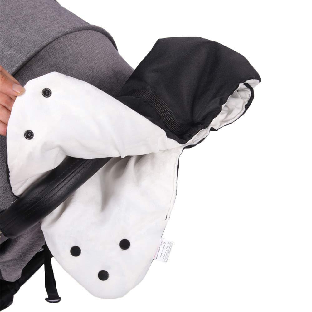 Singhi Baby Pushchair/Pram Handlebar Cover/Stroller Fleece Hand Muff/Hand Gloves/Hand Warmer Anti-Freezing Baby Stroller Accessories