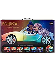 Rainbow High™ Color Change Car – Convertible Vehicle, 8-in-1 Light-Up, Multicolor Changing Car