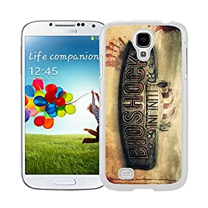 bioshock infinite White Hard Plastic Samsung Galaxy S4 I9500 i337 M919 i545 r970 l720 Phone Cover Case