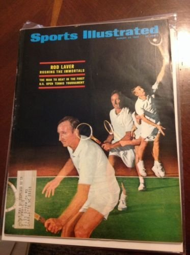 VINTAGE AUGUST 26 1968 SPORTS ILLUSTRATED ROD LAVER U.S. OPEN TENNIS TOURNAMENT from Unknown