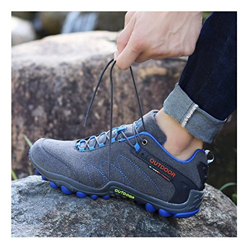 Always-Pretty-WomenMens-Walking-Hiking-Trail-Shoes-Casual-Running-Shoes-Sneakers-Dark-Grey-US-55-men