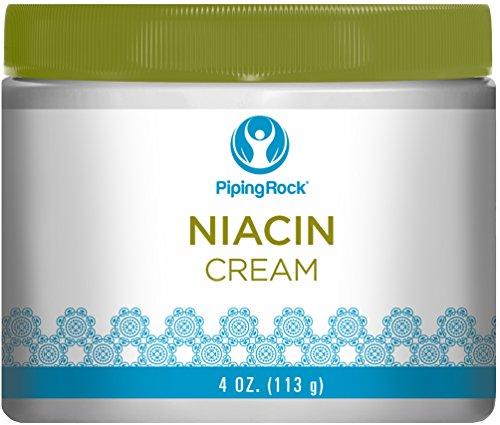 Piping Rock Niacin Skin Cream 4 oz (113 g) Jar
