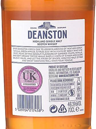 Deanston Virgin Oak Malt Whiskey (1 x 0.7 l)