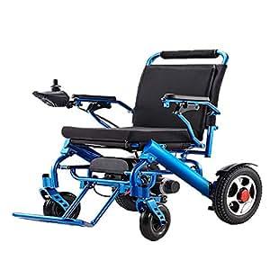 Silla de ruedas eléctrica BM-6012 aleación de aluminio ligera y plegable 22.8 kg +2.2 kg silla de ruedas eléctrica batería de litio que carga la silla de ...