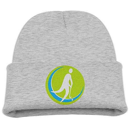 ABC&TT Kid Knitting Caps, Field Hockey Trendy Warm Thick Skull Hat
