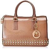 MG Collection Mila Glitter Studded Candy Travel Handbag