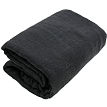 iEFiEL Newborn Shot Baby Cheesecloth Wrap Maternity Photo Prop (Black )