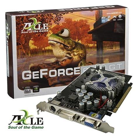 Axle Geforce 6600 GT tarjeta gráfica PCI-E 512MB DDR2 RAM ...