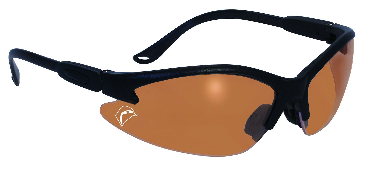 SSP Eyewear Sportsman Glasses with Black Frames and Belgium Bronze Anti-Fog Lenses, BULLBLK BB A/F by Specialized Safety Products