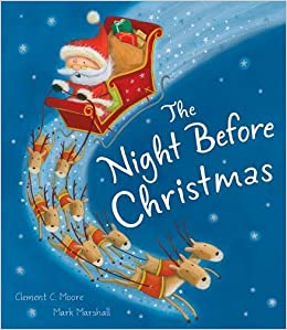 the night before christmas 9781848959125 amazoncom books - Night Before Christmas Book
