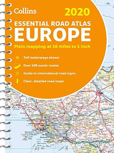 2020 Collins Essential Road Atlas Europe (Tripadvisor Europa)