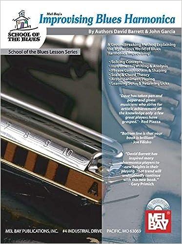 Amazon Mel Bay Presents Improvising Blues Harmonica