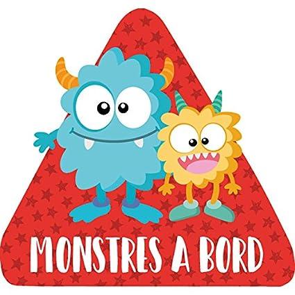 StarStick - Monstres a bord - CATALÀ - Adhesivo para coche ...